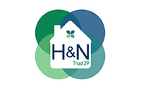 H and N